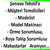 Şennova tekstile elemanlar aranıyor
