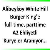 Alibeyköy'e A2 ehliyetli kuryeler aranıyor.