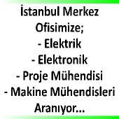 Elektrik, Elektronik, Proje Mühendisleri,HVAC Proje Mühendisleri,Makine Mühendisleri
