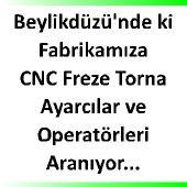 CNC operatrü