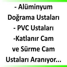 Alüminyum ve PVC Ustaları