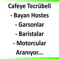 Cafe bar restaurant ilanları
