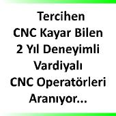 CNC operatörü