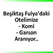 Beşiktaş Fulya'da ki otelimize elemanlar aranıyor