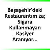Restauranta Kasiyer arannıyor