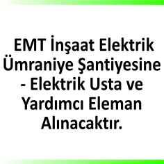 Elektrik ustaları ve yardımcıları