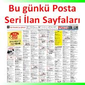 Posta İstanbul baskısı seri ilan sayfaları